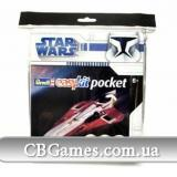 RV06731  Звездные войны. Звездный истребитель Джедая - easy kit Poсket