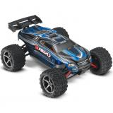 Автомобиль Traxxas E-Revo Monster 1:16 RTR 328 мм 4WD 2,4 ГГц (71054-1 Blue)