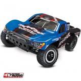 Автомобиль Traxxas Slash Short Course 1:10 RTR 568 мм OBA 2WD 2,4 ГГц (58034-2 Blue)