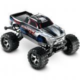 Автомобиль Traxxas Stampede Brushless Monster 1:10 RTR 500 мм 4WD 2,4 ГГц (67086-1 Silver)