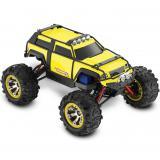 Автомобиль Traxxas Summit VXL Brushless Monster 1:16 RTR 320 мм 4WD 2,4 ГГц (72074-1 Yellow)