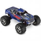 Автомобиль Traxxas T-Maxx 3,3 Nitro Monster 1:10 RTR 539 мм 4WD 2,4 ГГц (49077 Blue)