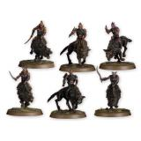 HUNTER ORCS ON FELL WARGS