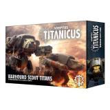 ADEPTUS TITANICUS WARHOUND SCOUT TITANS