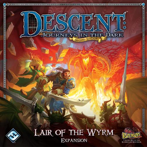Descent: Journeys in the Dark (2nd Edition) Lair of the Wyrm