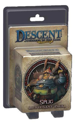 Descent: Lieutenant Pack - Splig