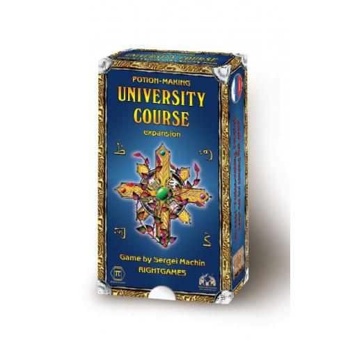 Potion-Making. University Course (expansion)
