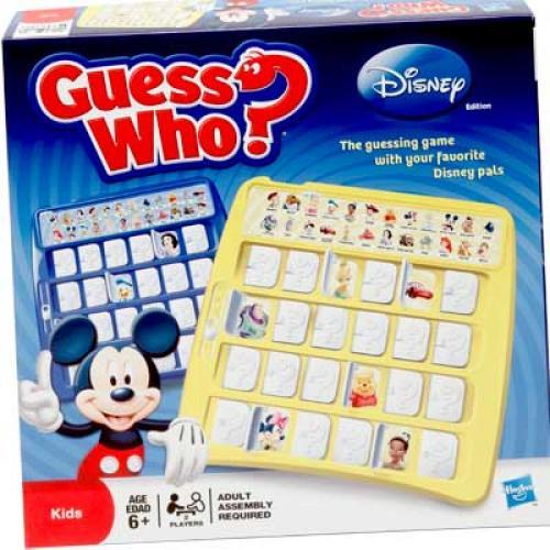 Угадай Кто? Дисней (Guess Who? Disney)