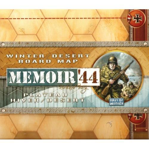 Memoir'44 - Winter / desert board map (Мемуары 44 Зима/Пустыня)