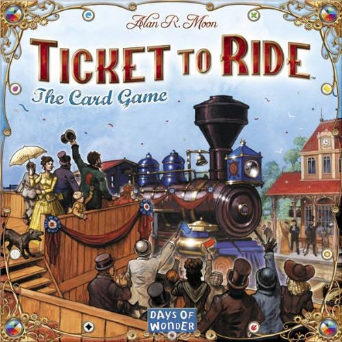 Ticket to Ride Card Game (Билет на поезд)