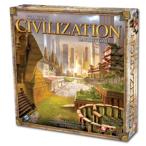 Sid Meier's Civilization: The Board Game (Цивилизация Сида Мейера eng)