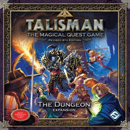 Talisman. The Dungeon Expansion