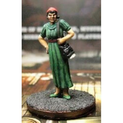Arkham Horror Investigator Miniatures: Gloria Goldberg (Миниатюра