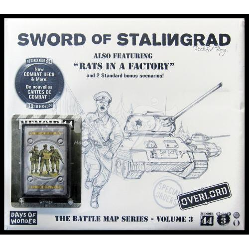 Memoir'44 - OP3 Battle Map - The Sword of Stalingrad / Rats in a Factory