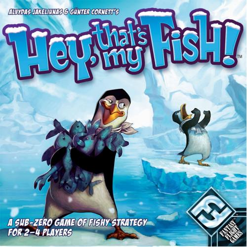 Hey, that's my fish! (Эй, это моя рыба)