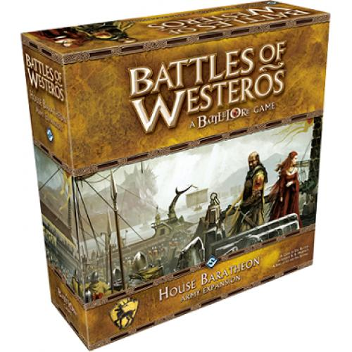 Battles of Westeros: House Baratheon Army Expansion (Битвы Вестероса: Армия Дома Баратеонов)