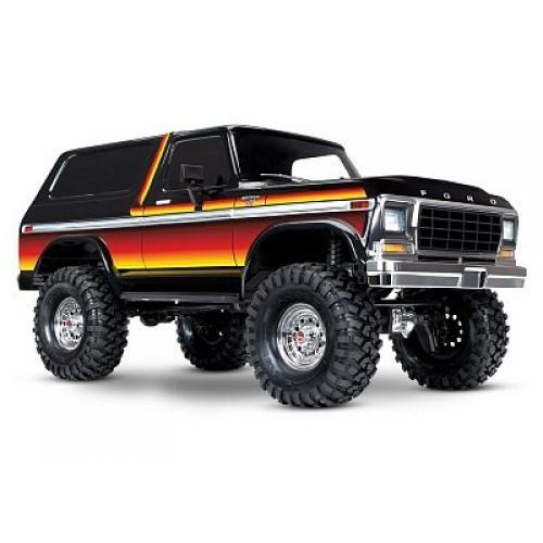 Автомобиль Traxxas TRX-4 Ford Bronco 1:10 RTR 523 мм 4WD 2,4 ГГц (82046-4 Sun)