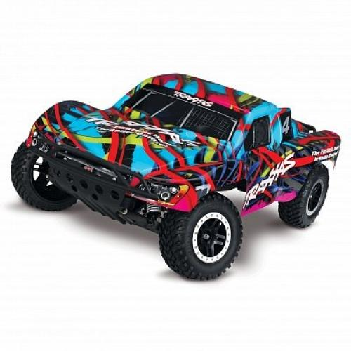Автомобиль Traxxas Slash Short Course 1:10 RTR 568 мм 2WD 2,4 ГГц (58034-1 HAWAIIAN)
