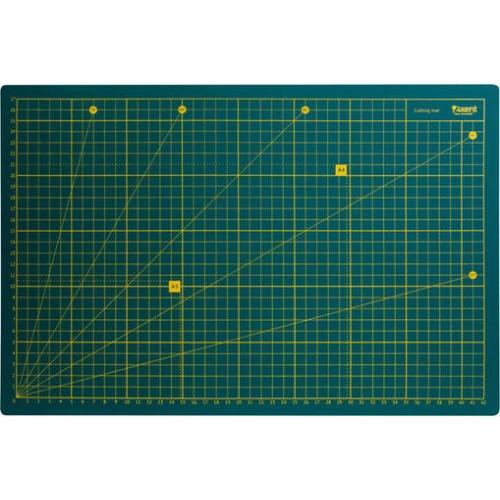 NA AXENT-7902 Модельный двухсторонний коврик (коврик для резки), размеры 45 Х 30 см. (А3)