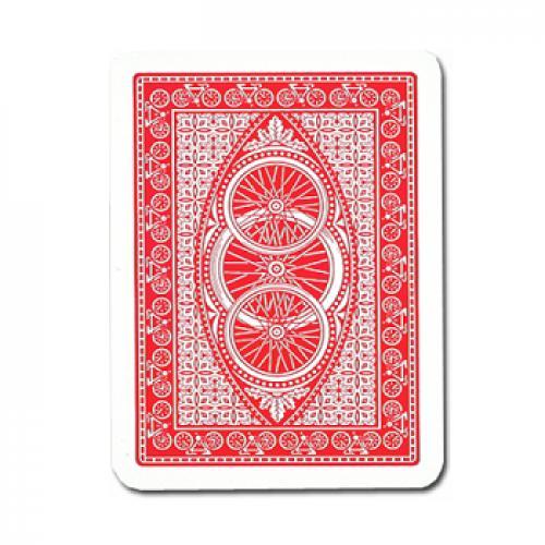 Карты Modiano Bike Trophy Jumbo пластиковые (красные)