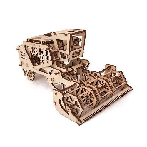 Трехмерная механическая головоломка-конструктор «Комбайн» (UG-011)