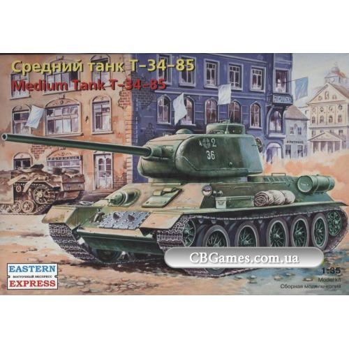 Танк Т-34-85 (EE35146) Масштаб:  1:35