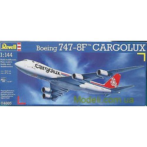 Пассажирский самолет Boeing 747-8F Cargolux (RV04885) Масштаб:  1:144