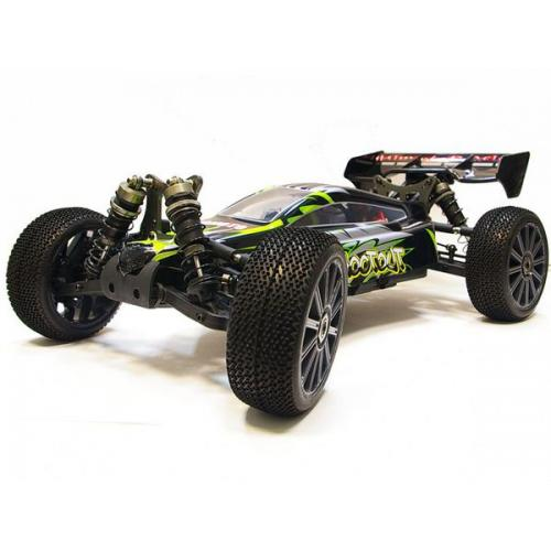 Багги 1:8 Himoto Shootout MegaE8XBL Brushless (зеленый) (MegaE8XBLg)