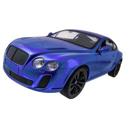 Машинка р/у 1:14 Meizhi лиценз. Bentley Coupe (синий) (MZ-2048b)