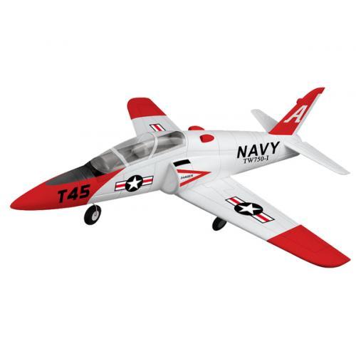 Модель р/у 2.4GHz реактивного самолёта VolantexRC Goshawk T45 (TW-750-1) 780мм RTF (TW-750-1-BL-RTF)