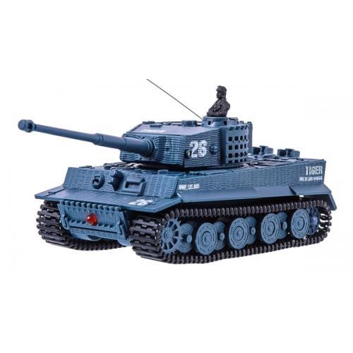 Танк микро р/у 1:72 Tiger со звуком (серый) (GWT2117-4)
