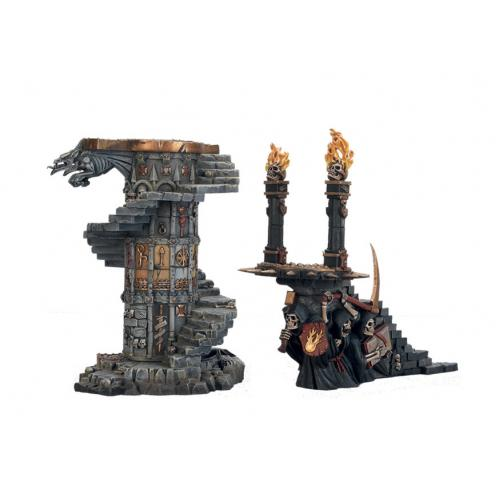 Eternity Stair and Dreadfire Portal