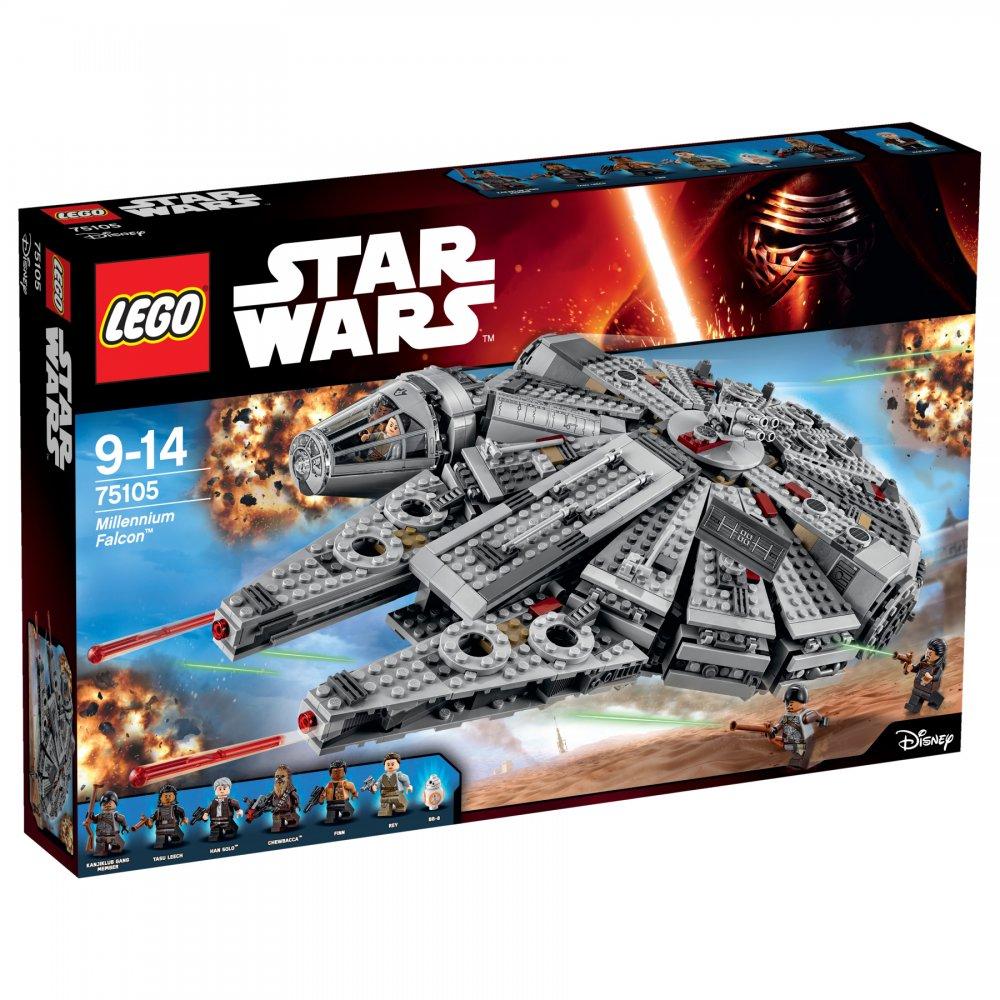 LEGO Star Wars TM Сокол Тысячелетия (Millennium Falcon™) 75105