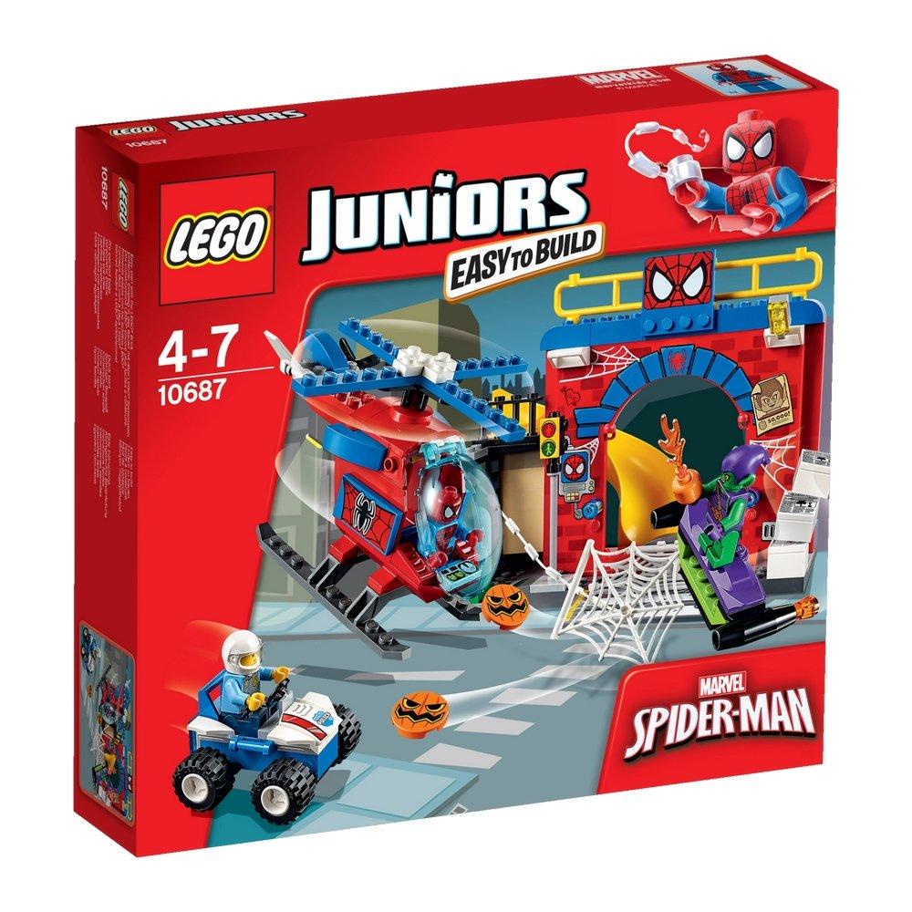 LEGO Juniors Убежище Человека-паука 10687