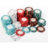 Покерный набор Poker Premium 200 фишек, номинал 1-100, 14гр. (арт. PS-297)