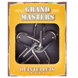 Grand Master Puzzles QUANTUPLETS yellow | Металлическая головоломка