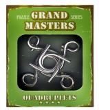 Grand Master Puzzles QUADRUPLETS green | Металлическая головоломка