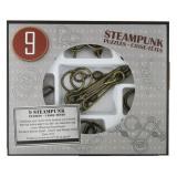 Набор головоломок 9 Steampunk Puzzles | Gray set