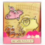 Детские головоломки | First Wire Puzzle Set Animals 1