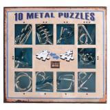 10 Metal Puzzle Blue | Голубой набор