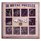 10 Metal Puzzle Violet | Фиолетовый набор
