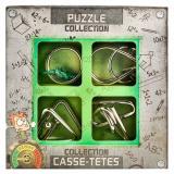 JUNIOR Puzzles Collection | Набор металлических головоломок для детей