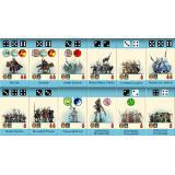 Pocket battles Elves vs Orks (Карманные сражения Орки против Эльфов)