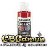 Краска для аэрографии Createx Colors - Transparent 5117 - Transparent Brite Red, 60 мл