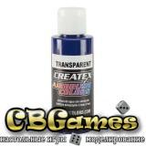 Краска для аэрографии Createx Colors - Transparent 5106 - Transparent Brite Blue,60 мл
