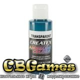 Краска для аэрографии Createx Colors - Transparent 5111 - Transparent Aqua, 60 мл