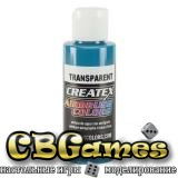 Краска для аэрографии Createx Colors - Transparent 5112 - Transparent Turquoise, 60 мл