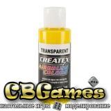 Краска для аэрографии Createx Colors - Transparent 5114 - Transparent Brite Yellow, 60 мл