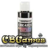 Краска для аэрографии Createx Colors - Transparent 5132 - Transparent Black, 60 мл