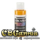 Краска для аэрографии Createx Colors - Transparent 5133 - Transparent Canary Yellow, 60 мл